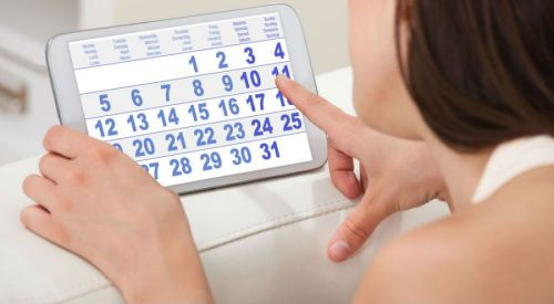 Подсчет менструального цикла