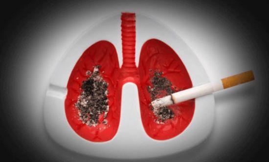 Смерть от сигарет