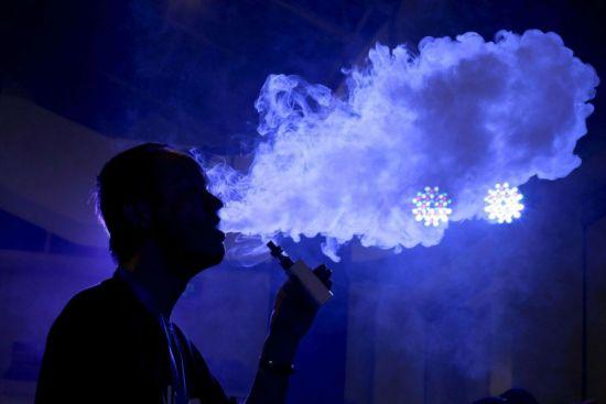 Дым от вейпа