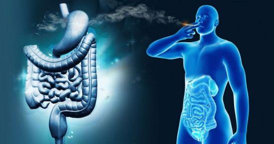 Воздействие сигарет на желудок