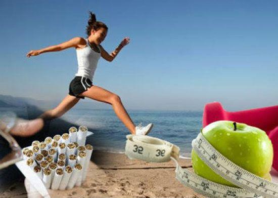 Здоровый образ жизни вместо сигарет