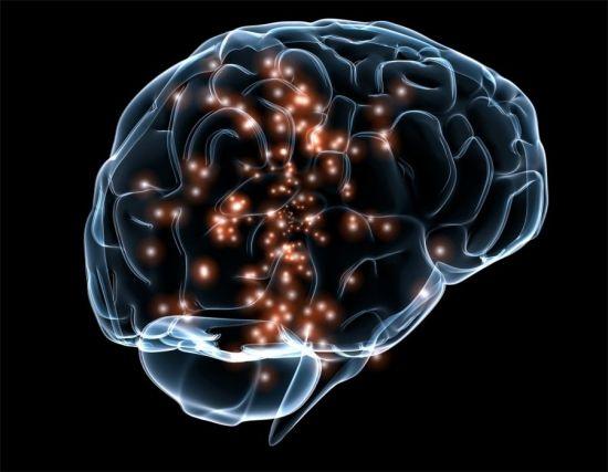 Импульсы в головном мозге