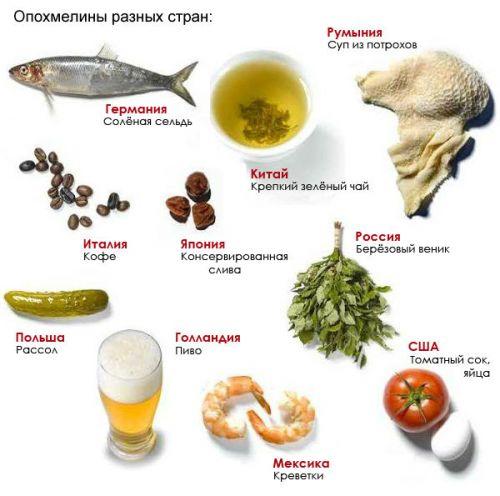 Еда при похмелье в разных странах