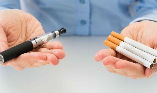 Вейп и сигареты