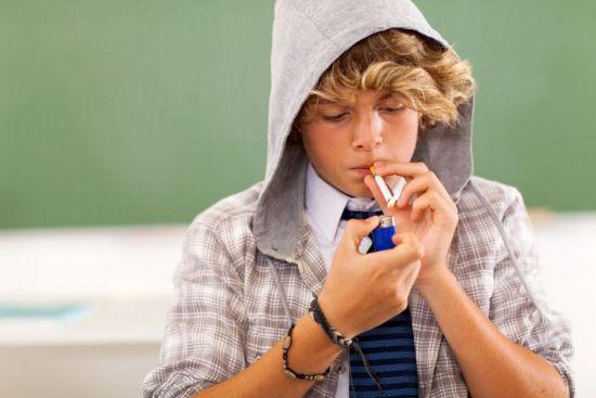 Подростковое курение