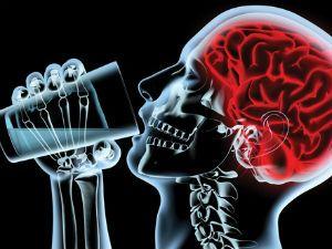 Влияние алкоголя на сосуды мозга