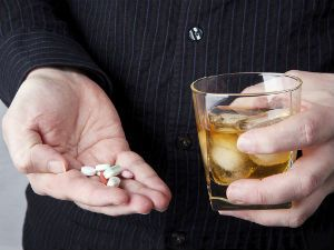 Лекарства и спиртное