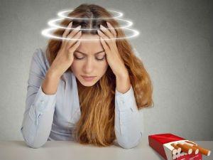 Головокружение от сигарет