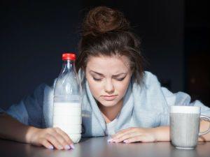 Молоко от похмелья