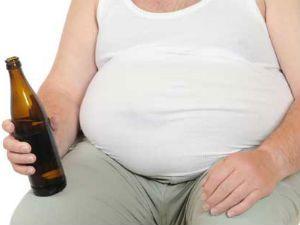 Ожирение от пива