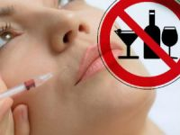 Запрет алкоголя при ботоксе