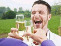 Употребление шампанского